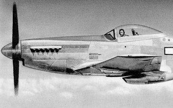 North American P-51D Mustang - 44-13366 - Test Flight