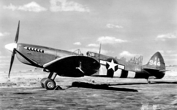 Capt. John Blyth - Spitfire PR Mk XI - 7th Photo Reconnaissance Group - 14th Photo Squadron