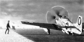 Lt. Ernest Fiebelkorn - P-51D Mustang - 77th Fighter Squadron