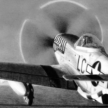 Lt. Ernest Fiebelkorn - P-51D Mustang - June Nite - 8th Air Force - 20th Fighter Group