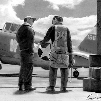 Maj. Eugene Roberts - P-47C Thunderbolt - Spokane Chief - 8th Air Force - 78th Fighter Group