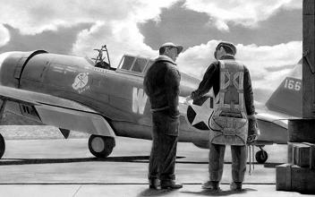 P-47 Thunderbolt - Spokane Chief - USAAF - Maj. Eugene Roberts