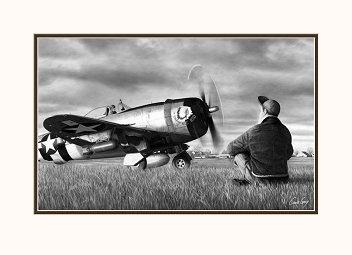 P-47D Thunderbolt - The Shawnee Kid III - 42-28276 - Ninth Air Force