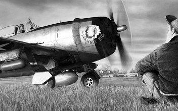 P-47 Thunderbolt - The Shawnee Kid III - USAAF - Capt. David Baumeister