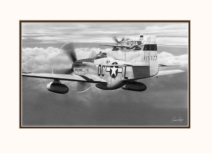 North American P-51D Mustang - Koyli Renee - 44-15177
