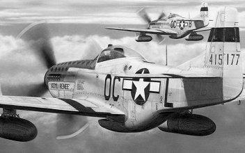 P-51 Mustang - Koyli Renee - USAAF - Lt. Glenn Crum